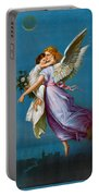The Angel Of Peace Portable Battery Charger by B T Babbitt
