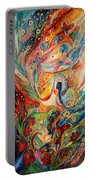 The Angels On Wedding Triptych - Center Portable Battery Charger