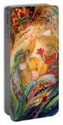 The Angels On Wedding Triptych - Left Side Portable Battery Charger