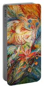 The Angels On Wedding Triptych - Right Side Portable Battery Charger