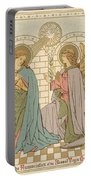 The Annunciation Of The Blessed Virgin Mary Portable Battery Charger
