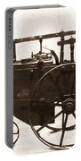 The Antique Farming Machine  Portable Battery Charger