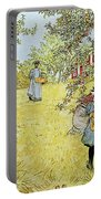 The Apple Harvest Portable Battery Charger by Carl Larsson