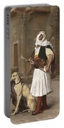 The Arnaut With Two Whippets Portable Battery Charger