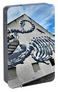 The Artist Roa At Work  Portable Battery Charger