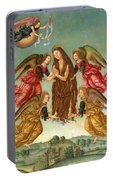 The Ascension Of Saint Mary Magdalene Portable Battery Charger