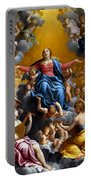 The Assumption Of The Virgin Mary Portable Battery Charger by Guido Reni