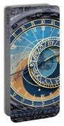 The Astronomical Clock In Prague Portable Battery Charger