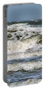 The Atlantic Ocean At Sullivan's Island Portable Battery Charger