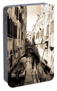 The Back Canals Of Venice Portable Battery Charger