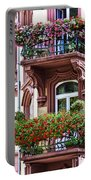 The Balcony Flowers Portable Battery Charger