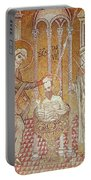 The Baptism Of St. Paul By Ananias, From Scenes From The Life Of St. Paul Mosaic Portable Battery Charger