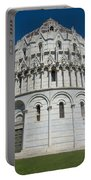 The Baptistery In Pisa  Portable Battery Charger