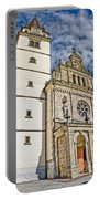 The Basilica In Mary Of Bistrica Portable Battery Charger