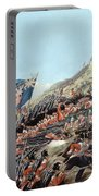 The Battle Of Alma On 20th September Portable Battery Charger by Edmund Walker