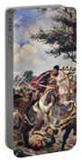 The Battle Of Bouvines, 1214 Portable Battery Charger