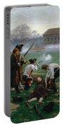 The Battle Of Lexington, 19th April 1775 Portable Battery Charger