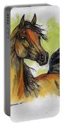 The Bay Arabian Horse 5 Portable Battery Charger