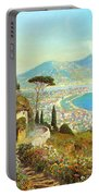 The Bay Of Naples Portable Battery Charger