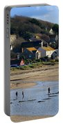 The Beach At Marazion Portable Battery Charger