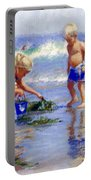 The Beach Pail Portable Battery Charger