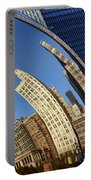 The Bean - 1 - Cloud Gate - Chicago Portable Battery Charger