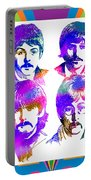 The Beatles Art Portable Battery Charger