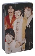 The Beatles In Color Portable Battery Charger