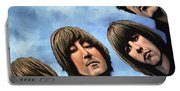 The Beatles Rubber Soul Portable Battery Charger