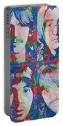 The Beatles Squared Portable Battery Charger