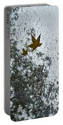 The Beauty Of Autumn Rains - A Vertical View Portable Battery Charger