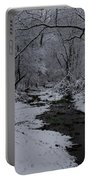 The Beauty Of Winter Portable Battery Charger