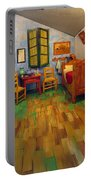 The Bedroom Of Van Gogh At Arles Portable Battery Charger
