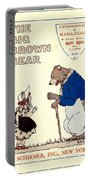 The Big Brown Bear Portable Battery Charger
