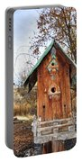 The Birdhouse Kingdom - Spotted Towhee Portable Battery Charger