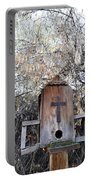 The Birdhouse Kingdom - The Olive-sided Flycatcher Portable Battery Charger