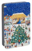 The Birth Of Christ Portable Battery Charger