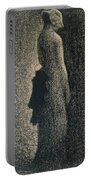 The Black Bow Portable Battery Charger by Georges Pierre Seurat