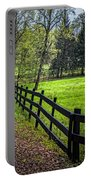 The Black Fence Portable Battery Charger