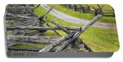 The Bloody Lane At Antietam Portable Battery Charger