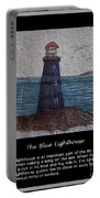 The Blue Lighthouse Portable Battery Charger