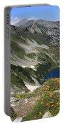 The Blue Vasilashko Lake Pirin National Park Bulgaria  Portable Battery Charger