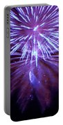 The Bombs Bursting In Air Portable Battery Charger by Robert ONeil
