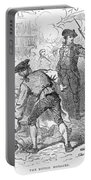 The Boston Massacre, March 5th 1770, Engraved By A. Bollett Engraving B&w Photo Portable Battery Charger