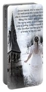 The Bride Of Christ Portable Battery Charger