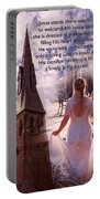 The Bride Of Christ Poem By Kathy Clark Portable Battery Charger