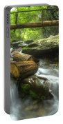 The Bridge At Alum Cave Portable Battery Charger by Debra and Dave Vanderlaan