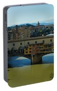 The Bridges Of Florence Italy Portable Battery Charger