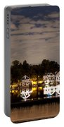 The Bright Lights Of Boathouse Row Portable Battery Charger