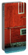 The Broad Side Of A Barn Portable Battery Charger by Lois Bryan